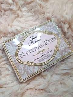 BN TWO FACED natural eye shadow pallete