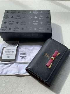 Authentic MCM Milla 3 Fold Wallet