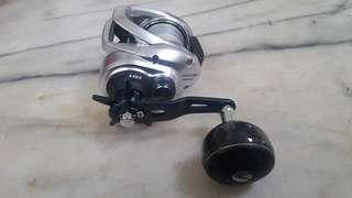 Shimano Tranx 401HG Reel (lefty)