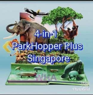 4 in 1 park hopper