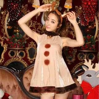 Christmas special reindeer costume