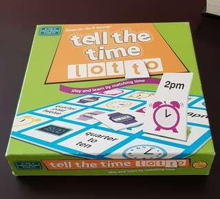 Tell the time Matching Game