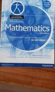 HL Mathematics developed specifically for the IB diploma 2012 edition