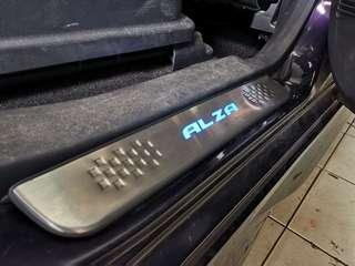 Alza side steel step
