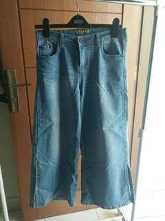 Celana Jeans Kulot Premium