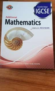 Additional mathematics Cambridge IGCSE Complete revision fairfield book publishers
