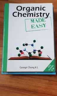 Organic chemistry made easy george chong k l
