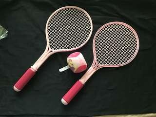 Badminton set for young kids