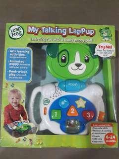Leap frog dog