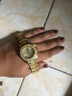 Jam tangan gold Rolex