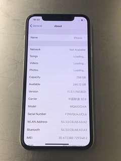 iPhone X 256G White 95%New