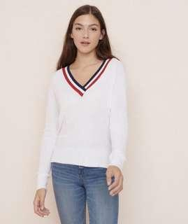 Garage v-neck sweater