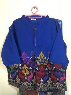 Baju batik fit tO L
