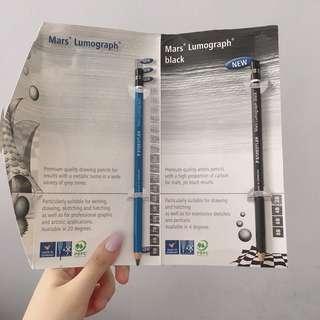 Staedtler Mars Lumograph Drawing Pencil Graphite pencils 6B