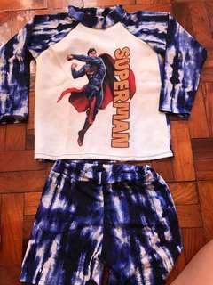 Superman rushguard