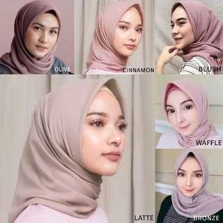 Hijab pollycotton murah 20k (po)