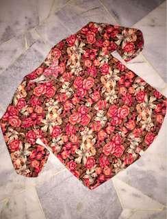 #freepostage Vintage Women Floral Blouse