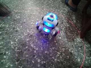 🚚 紅外線旋轉機器人