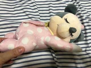 日本Disney Minnie Mouse 音樂陪睡寶寶有音樂有胎音