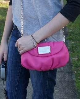 Marc by Marc Jacobs Classic Q Karlie Chain Wallet Bag Pink