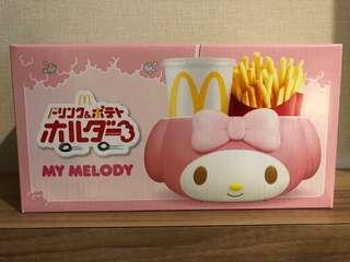 日本麥當勞最新 My Melody 食物手提籃