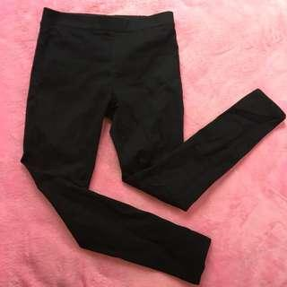 penshoppe powerstretch black jeggings