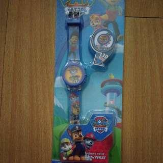 BRANDNEW PAW PATROL GLOWING WATCH