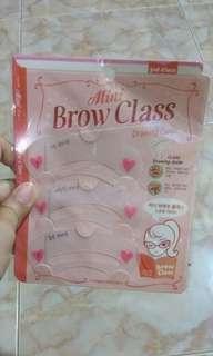 Mini Brow Class / Cetakan Alis 3 in 1