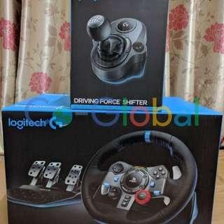 <Pre-order> 全新Brand New Logitech Driving Force G29 Racing Wheel + Shifter 軚盤 腳踏 波棍 三件套
