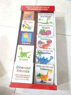 Baby's First Year First Learning Book Box set (Dinosaur)