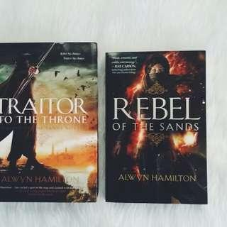 Rebel of the Sands + Traitor to the Throne by Alwyn Hamilton