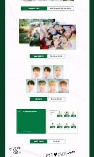 LOOSE ITEM BTS season greetings 2019