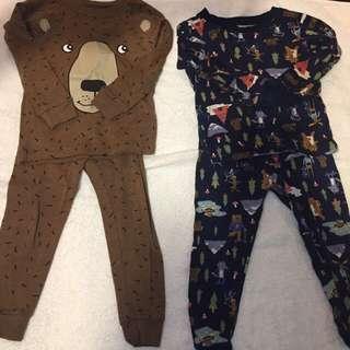 🚚 Carter Pajamas 男孩子的睡衣