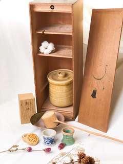 🚚 古董茶道具組
