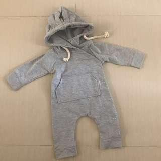 Cub hoodie onesie baby hoodie bayi