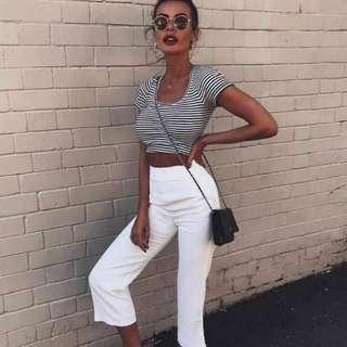 ❣️ Kookai White Oyster Pants