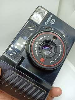 Canon AF35M II Sure Shot Autoboy 2  Quartz Date 35mm Film Camera