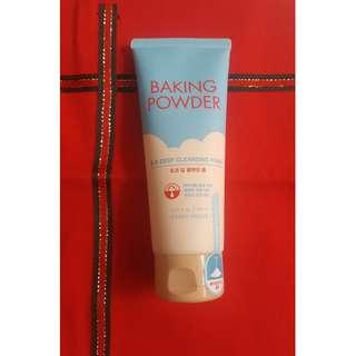 Sealed Etude House Baking Powder B.B Deep Cleansing Foam 160mL