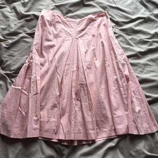 Baby pink handmade skirt