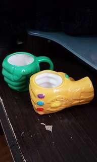 Marvel coffee mugs/cups
