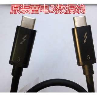 雷電3 USB Type-C 3.1 Gen2 Thunderbolt3  雷電3 40Gbps
