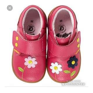 BN Pediped Grip 'n' Go - Aryanna Fuchsia Shoe