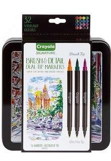 Crayola Brush Markers [NEW]