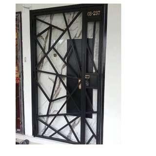 Mild Steel Gate for HDB/BTO at $680/$780 (Call 88668884)