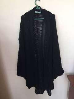 Long cardigan in black #BlackFriday100