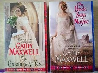 Series The Bride of  Wishmore by Cathy Maxwell