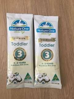 Nature one nutritious milk drink 1-3 years