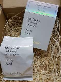 Laneige BB Cushion whitening SPF 50++ 5g #XMAS50