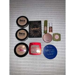 Bunch of makeup
