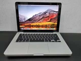 Apple MacBook Pro 13inch MD101 Core i5 RAM 4GB SSD 120GB 2012 - SECOND